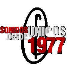 sonidos únicos desde 1977